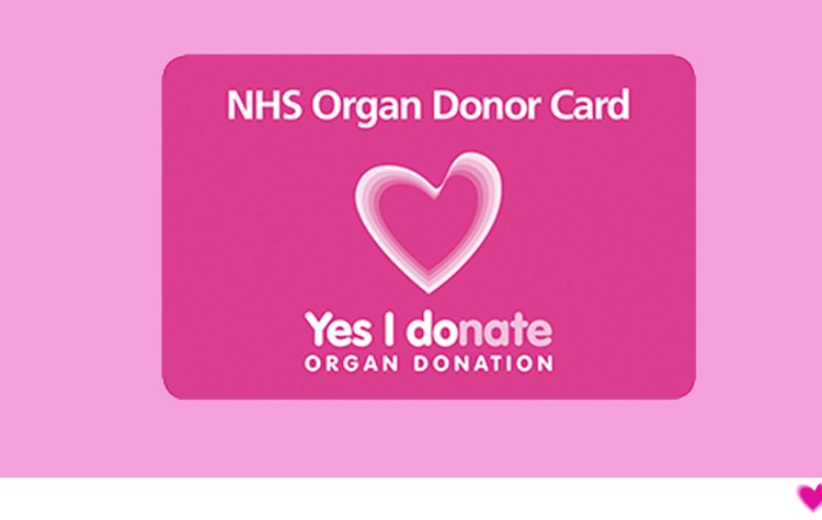Register for an Organ Donor Card