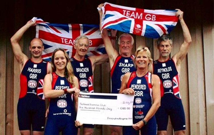 Hospital supports Team GB tri-athletes