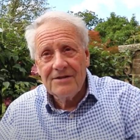 Dr Brian Hanson, cataract patient
