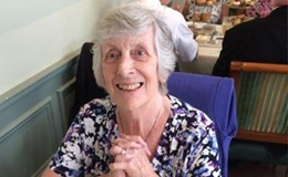 Shirley Davis' successful cataract surgery
